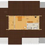 Masivna lesena hiša Aleksandra L 2