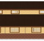 Masivna lesena hiša Aleksandra L 9