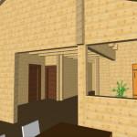 Masivna lesena hiša Aleksandra L 20