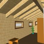 Masivna lesena hiša Aleksandra L 21