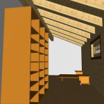 Masivna lesena hiša Aleksandra L 22