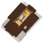 Masivna lesena hiša Aleksandra M 10