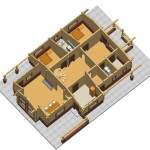 Masivna lesena hiša Aleksandra M 12