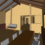 Masivna lesena hiša Aleksandra M 18