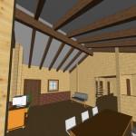 Masivna lesena hiša Aleksandra M 19