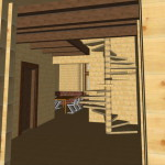 Masivna lesena hiša Aleksandra M 20