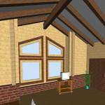 Masivna lesena hiša Aleksandra M 21