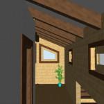 Masivna lesena hiša Aleksandra M 22