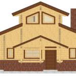 Masivna lesena hiša Aleksandra S 6