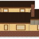 Masivna lesena hiša Aleksandra S 9
