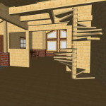 Masivna lesena hiša Aleksandra S 15