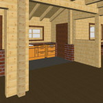 Masivna lesena hiša Aleksandra S 20