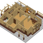 Masivna lesena hiša Aleksandra S 26
