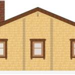 Masivna lesena hiša Andrea 7