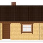 Masivna lesena hiša Andrea 9