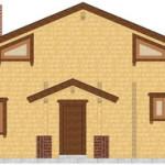 Masivna lesena hiša Anina 7