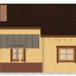 Masivna lesena hiša Anina 8