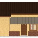 Masivna lesena hiša Anina 9