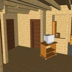 Masivna lesena hiša Anina 13