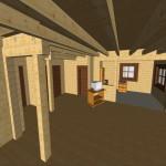 Masivna lesena hiša Anina 14