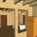 Masivna lesena hiša Anina 15