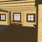 Masivna lesena hiša Anina 16