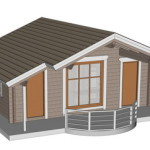 Masivna lesena hiša Barbara 3