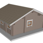 Masivna lesena hiša Barbara 5