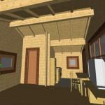 Masivna lesena hiša Barbara 10