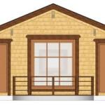 Masivna lesena hiša Barbara 11