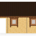 Masivna lesena hiša Barbara 13