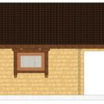 Masivna lesena hiša Barbara 14