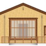 Masivna lesena hiša Casandra 6