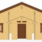 Masivna lesena hiša Casandra 7