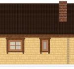 Masivna lesena hiša Casandra 8