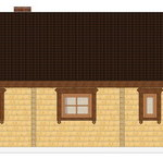 Masivna lesena hiša Casandra 9