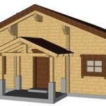 Masivna lesena hiša Casandra 15