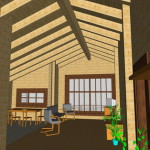 Masivna lesena hiša Casandra 16