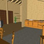 Masivna lesena hiša Casandra 17