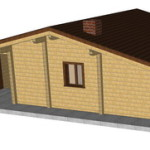 Masivna lesena hiša Paula 4