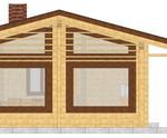 Masivna lesena hiša Paula 6