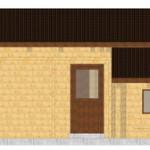 Masivna lesena hiša Paula 8