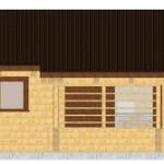 Masivna lesena hiša Paula 9