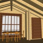 Masivna lesena hiša Petra 2