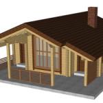 Masivna lesena hiša Petra 1