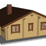Masivna lesena hiša Petra 4