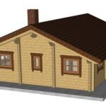 Masivna lesena hiša Petra 5