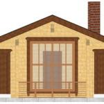 Masivna lesena hiša Petra 6