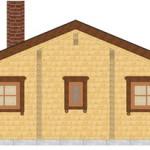 Masivna lesena hiša Petra 7