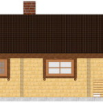 Masivna lesena hiša Petra 9